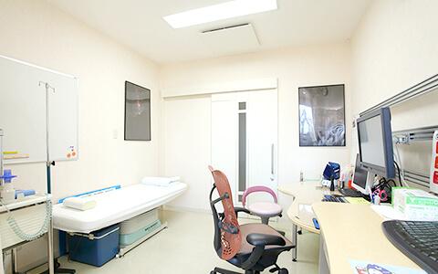 診療室(1診、2診、3診あります)